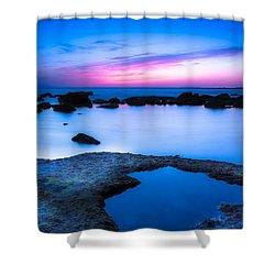Blue Hour Shower Curtain by Edgar Laureano