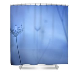 Blue Hour In The Paradise Shower Curtain by Guido Montanes Castillo