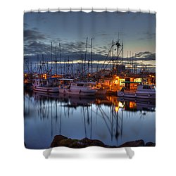 Blue Hour Shower Curtain