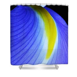Shower Curtain featuring the photograph Blue by Judy Whitton
