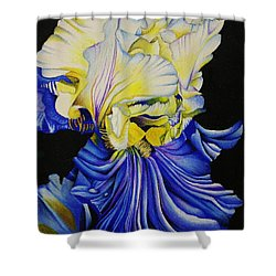 Blue Magic Shower Curtain