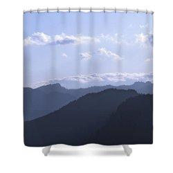 Blue Mountains Shower Curtain