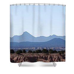 Blue Nevada 2 Shower Curtain