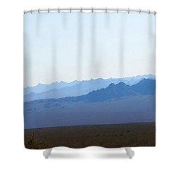 Blue Nevada Shower Curtain