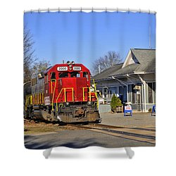 Blue Ridge Scenic Railway Shower Curtain