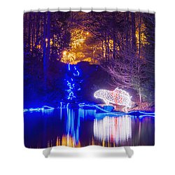 Blue River - Full Height Shower Curtain