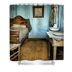 Blue Room Shower Curtain by Jill Battaglia