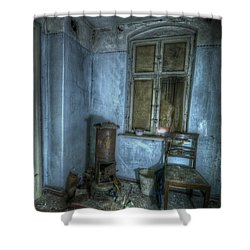 Blue Room Shower Curtain by Nathan Wright