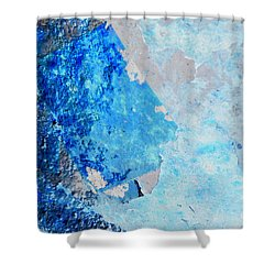 Shower Curtain featuring the photograph Blue Rust by Randi Grace Nilsberg