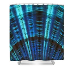 Deep Blue Deception... Shower Curtain by Tammy Schneider