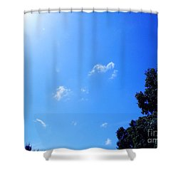 Blue Sky And Sunshine Shower Curtain