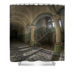 Blue Staircase Of Beauty Shower Curtain by Nathan Wright