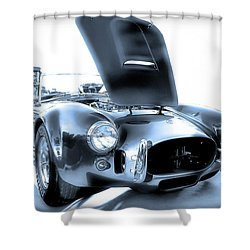 Shower Curtain featuring the photograph Blue Steel by Dyle   Warren