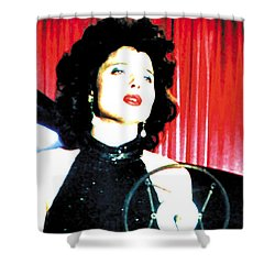 Blue Velvet 2013 Shower Curtain