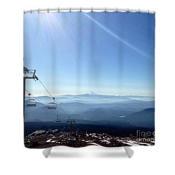 Blue Yonder Shower Curtain