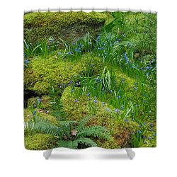 Shower Curtain featuring the photograph Bluebells  by Marilyn Wilson