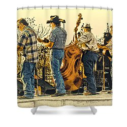 Bluegrass Evening Shower Curtain by Robert Frederick