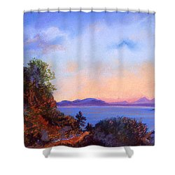 Bluff Shower Curtain