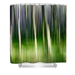 Shower Curtain featuring the photograph Blurred by Juergen Klust