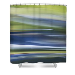 Blurscape Shower Curtain by Dayne Reast