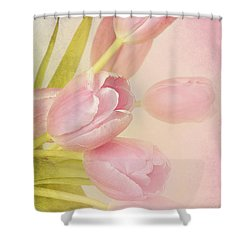 Blushing Beauties Shower Curtain by A New Focus Photography