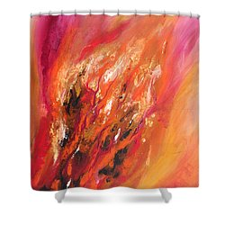 Blushing Shower Curtain
