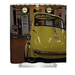 Bmw Isetta Shower Curtain