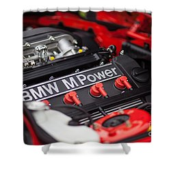 Bmw M Power Shower Curtain