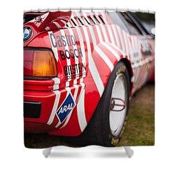 Bmw M1 Racecar Shower Curtain