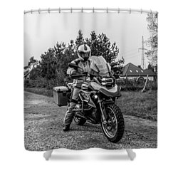 Bmw R 1200 Gs Shower Curtain