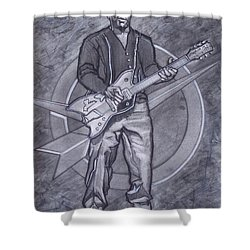 Bo Diddley - Have Guitar Will Travel Shower Curtain