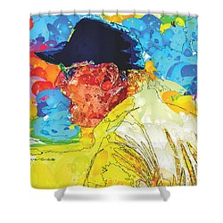 Bo Knows Football Shower Curtain