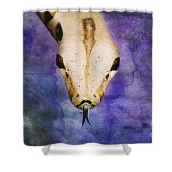 Boa Snake Shower Curtain