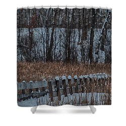 Shower Curtain featuring the photograph Boardwalk Series No2 by Bianca Nadeau