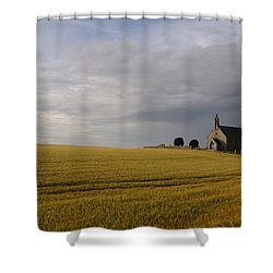 Boarhills Church Shower Curtain by Jeremy Voisey