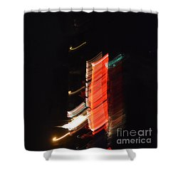 Boat Parade 1 Shower Curtain