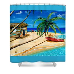 Boat Rent Shower Curtain by Steve Ozment