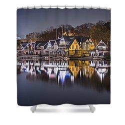 Boathouse Row Shower Curtain