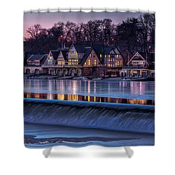Boathouse Row Shower Curtain