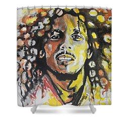 Bob Marley 02 Shower Curtain