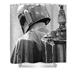 Boba Fett Costume 3 Shower Curtain by Micah May
