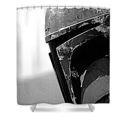 Boba Fett Helmet 24 Shower Curtain by Micah May