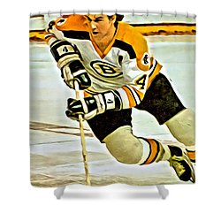 Bobby Orr Shower Curtain
