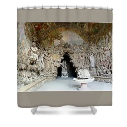 Boboli La Grotta Grande 3 Shower Curtain by Ellen Henneke