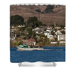 Bodega Bay In December Shower Curtain