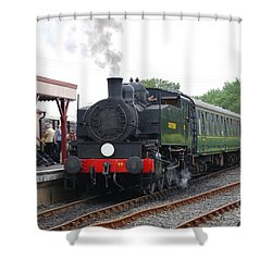 Bodiam Station Shower Curtain