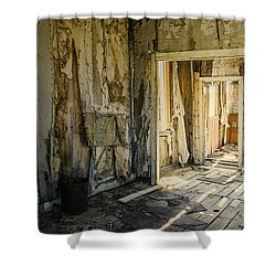Bodie California Forgotten Ballroom Shower Curtain by LeeAnn McLaneGoetz McLaneGoetzStudioLLCcom