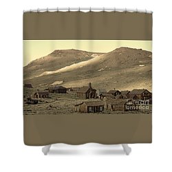 Shower Curtain featuring the photograph Bodie California by Nick  Boren