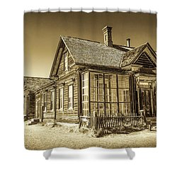 Bodie Ghost Town Shower Curtain