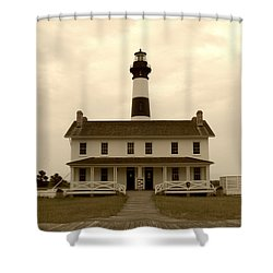 Bodie Light  Shower Curtain